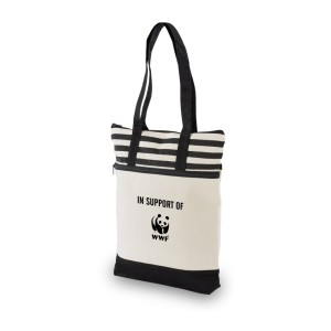20 Earth Tone Tote-Black