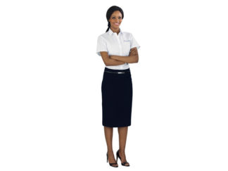 Huntington Short Sleeve Ladies Shirt from Boland Promotions
