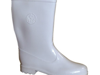 Ladies Lined White Calf Length P.V.C Gumboot from Boland Promotions