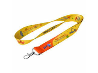 20Mm Dye Sublimated Lanyard With Snap Hook from Boland Promotions