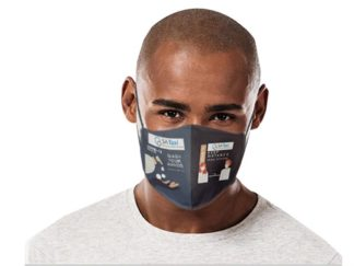 Be Safe 3 Layer Beak Mask-Men -Wash Hands from Boland Promotions