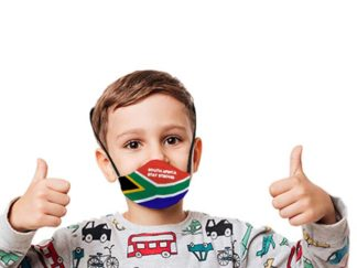 Boomer Sa Flag 3 Layer Beak Mask For Kids Age: 4-8Years from Boland Promotions