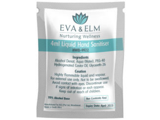 Eva & Elm Buxton Liquid Hand Sanitiser - 4Ml from Boland Promotions