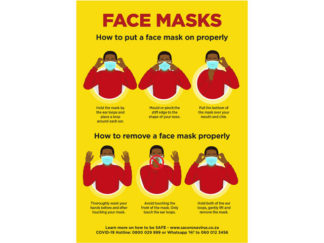 Jupiter A0 Face Masks Poster from Boland Promotions