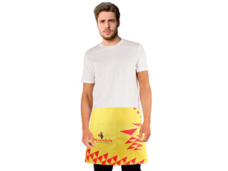 Kitch Sublimated Half Apron With Pocket from Boland Promotions