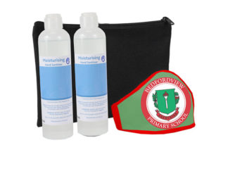 Boomer Sanitisers And Mask 250Ml Set from Boland Promotions