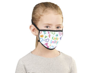 Buzz Junior Sublimation Mask - Single from Boland Promotions
